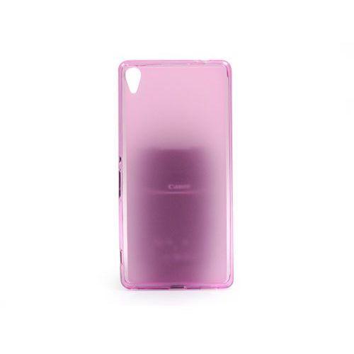 Sony Xperia XA Ultra - etui na telefon FLEXmat Case - różowy