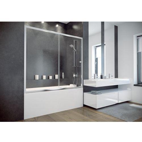 duo slide ii parawan nawannowy 150 cm szkło przezroczyste dds-ii-150 marki Besco