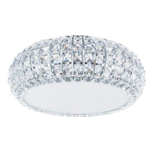 Plafon LAMPA sufitowa MONDE C0109-06A-F4AC Italux halogenowa OPRAWA glamour z kryształkami crystal chrom przezroczysta (5900644347026)