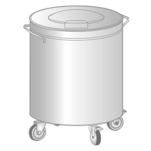 Pojemnik na odpadki, średnica 450 mm | , dm-3415 marki Dora metal