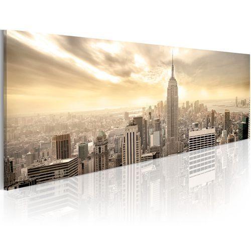 Artgeist Obraz - new york city among the clouds