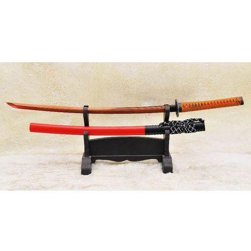MIECZ SAMURAJSKI KATANA , CZERWONA STAL WYSOKOWĘGLOWA 1095, HARTOWANY GLINKĄ R894 z kategorii miecze i akcesoria