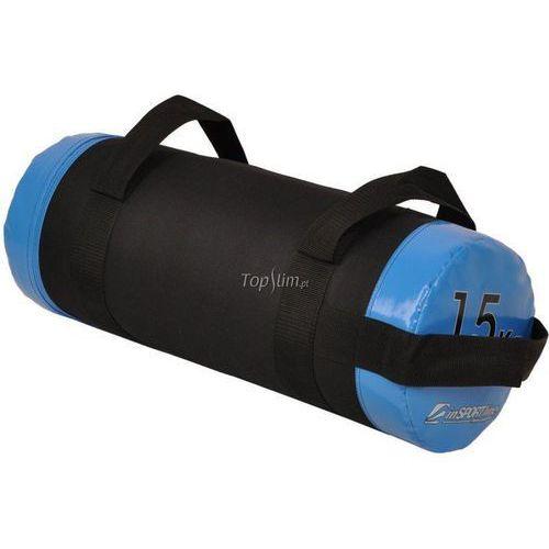 Insportline Torba do ćwiczeń z uchwytami 15kg fitbag  - 15 kg