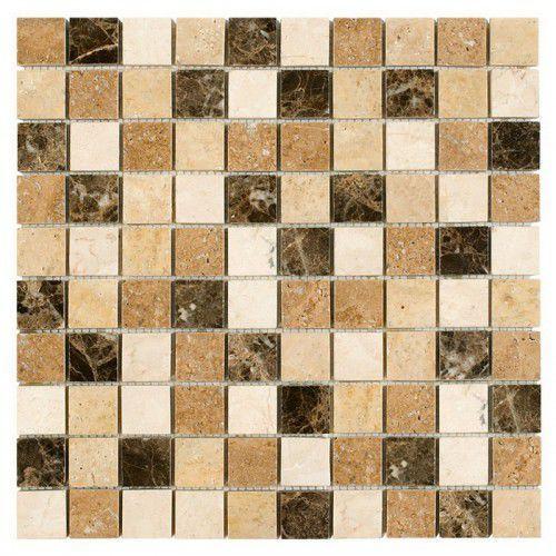 Dunin travertine mozaika kamienna travertine mix 32