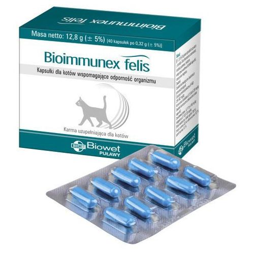 Biowet puławy Bioimmunex felis a 40 kapsułek (5907563481220)