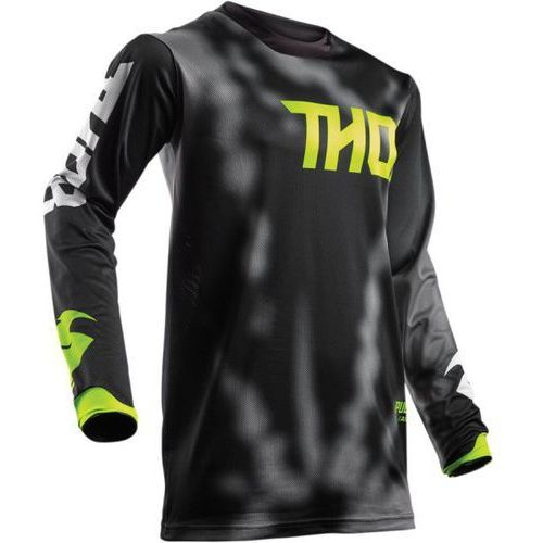 Thor_2018 Thor bluza youth pulse air radiate offroad black=$