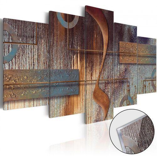 Artgeist Obraz na szkle akrylowym - orientalna kompozycja [glass]