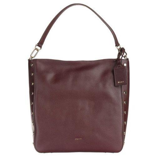 torebka czerwony brązowy uni marki Dkny