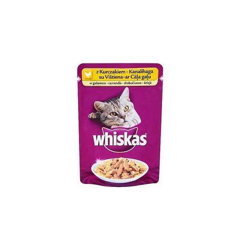 adult kurczak w galaretce - saszetka 12x100g + whiskas potrawka tradycyjna w galaretce 4x85g gratis!!! marki Whiskas