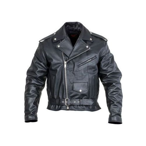 Skórzana kurtka motocyklowa Sodager Live To Ride Jacket, Czarny, 4XL (8596084052568)