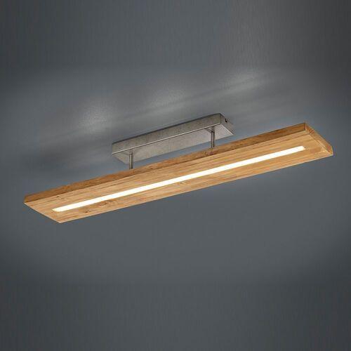 brad 623710130 plafon lampa sufitowa 1x27w led 3000k drewno naturalne marki Trio