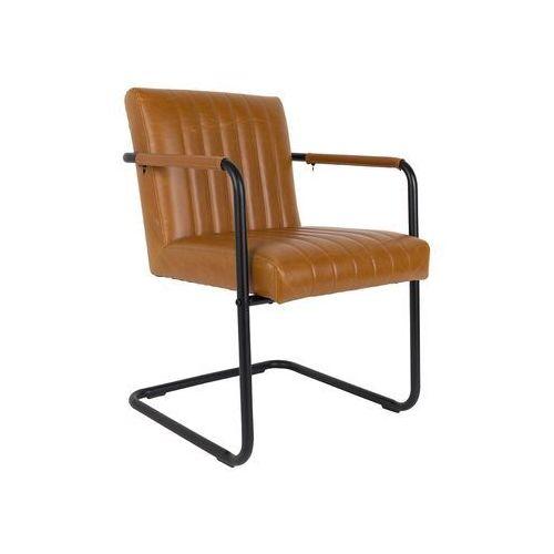 Dutchbone fotel stitched koniakowy 1200117 (8718548023222)