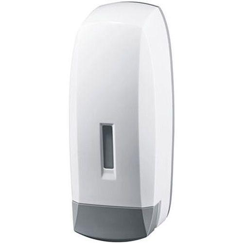 Bisk Dozownik do mydła w płynie 1 litr plastik biały/szary