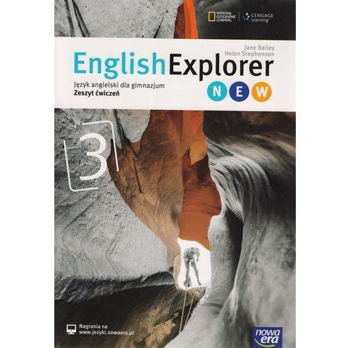 English Explorer 3 New. Gimnazjum. Język angielski. Zeszyt ćwiczeń (9788326717185)