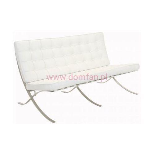 D2.design Sofa ba2 premium inspirowana barcelona - biały