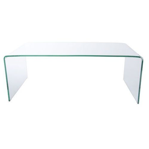 King home Stolik szklany formanova - szkło transparentne hartowane