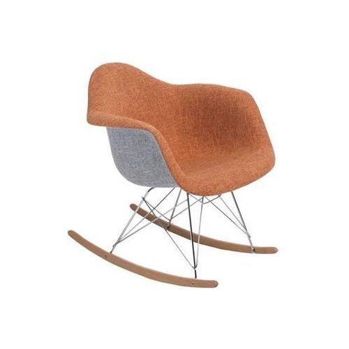 Krzesło p018 duo inspirowane rar - pomarańczowy ||szary marki D2.design