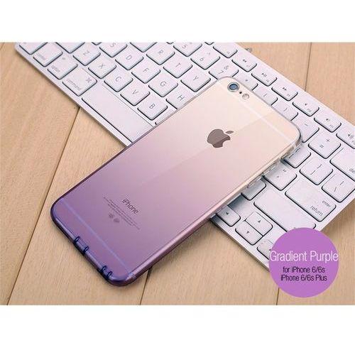 Etui gradientowe dla iphone 6 plus i 6s plus - gradient fioletowy - iphone 6 plus i 6s plus \ gradient fioletowy marki Marka-24