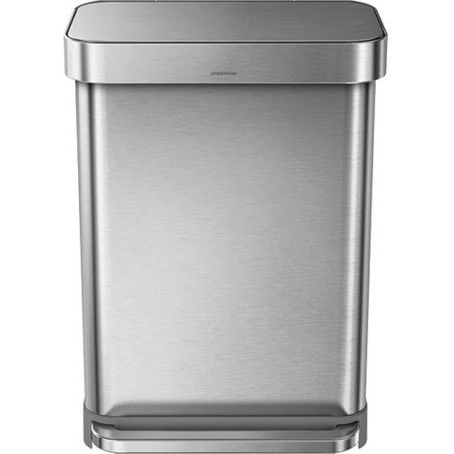 Kosz na śmieci pedałowy Liner Pocket Recycler 58 l stal FPP, CW2025