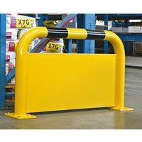 Pałąk zabezpieczający, zabezp. podjeżdżania 400 mm, wys. x szer. 600x1000 mm. Do
