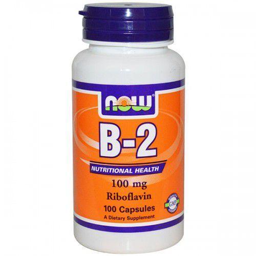 Now Foods, Witamina B-2, 100 mg, 100 kapsułek (artykuł z kategorii Witaminy i minerały)