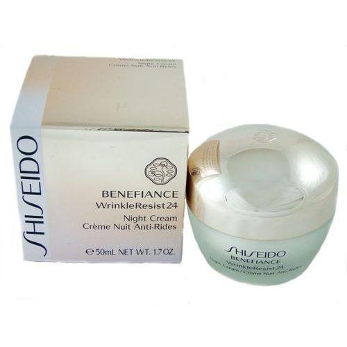 Shiseido Benefiance Wrinkle Resist 24 Night Cream - produkt z kategorii- Kremy na noc