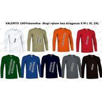 Podkoszulek koszulka długi rękaw tiger xxl niebieski-royal-blue marki Valento