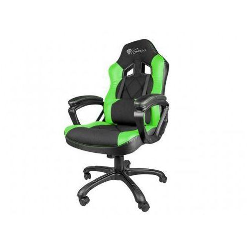 Natec Genesis fotel dla gracza nitro 330 czarno-zielony nfg-0906 - odbiór w 2000 punktach - salony, paczkomaty, stacje orlen (5901969407419)