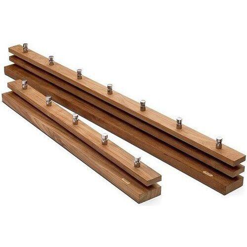Garderoba bez półki cutter drewno tekowe 100 cm (5706420041344)