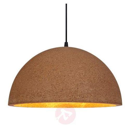 LAMPA wisząca CORK 106486 Markslojd metalowa OPRAWA zwis kopuła brązowa, kolor czarny,