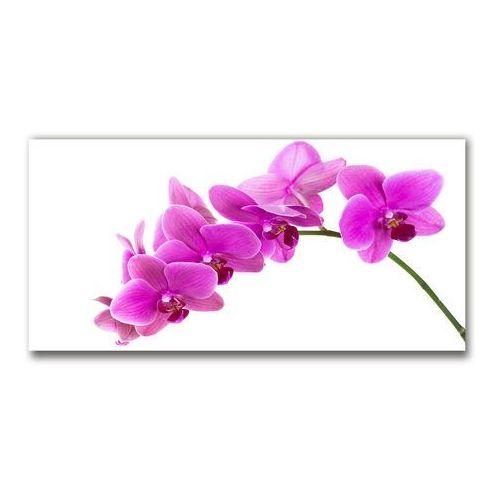 Fotoobraz na ścianę szklany Różowa orchidea