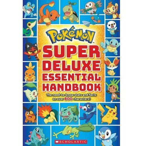 Pokemon: Super Deluxe Essential Handbook Scholastic (9781338230895)