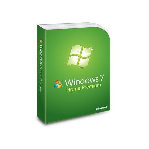 Windows 7 home premium, naklejka z kluczem i dvd 64-bit marki Microsoft