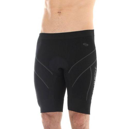 lb00120 spodnie rowerowe męskie standard czarne marki Brubeck