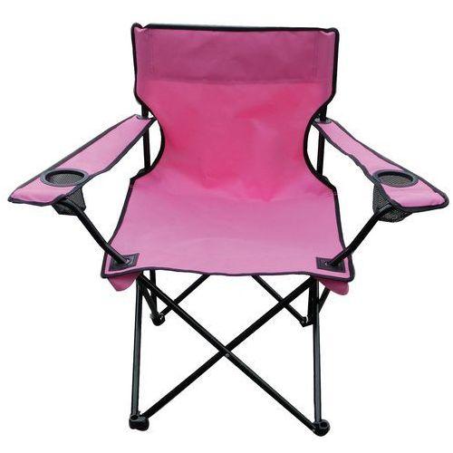 Krzesełko wędkarskie Oxford, różowy z kategorii Krzesełka wędkarskie