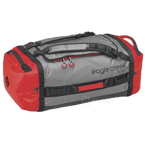 Eagle creek cargo hauler duffel 90l torba podróżna składana 73 cm / plecak / cherry / grey - cherry / grey
