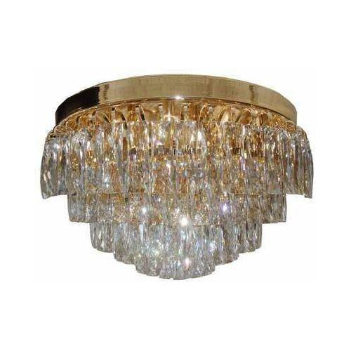Eglo valparaiso 39459 plafon lampa sufitowa 16x40w e14 złoty/transparentny (9002759394592)