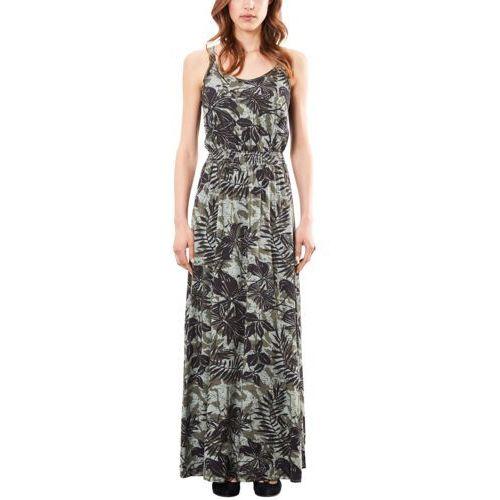 Q/s designed by długa sukienka moss green marki S.oliver