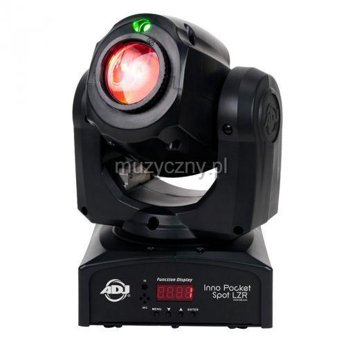 inno pocket spot lzr - ruchoma głowa 12w led dmx + zielony laser marki American dj