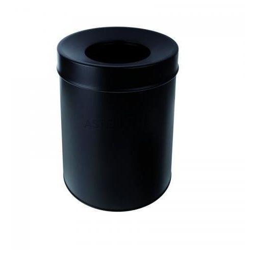 Kosz na śmieci 7,5l, stojący, bez pokrywy, czarny 150115151