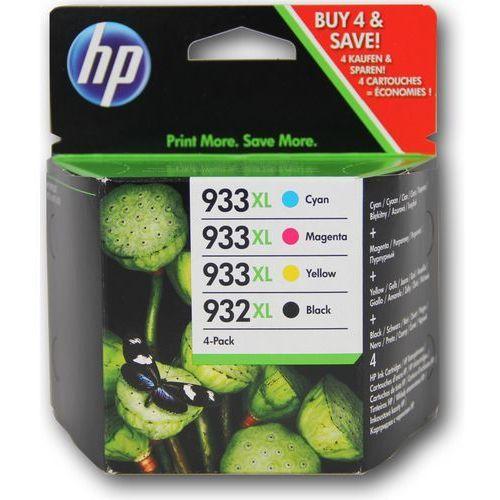 Zestaw tuszy HP 932XL / 933XL / C2P42AE CMYK do drukarek (Oryginalny)