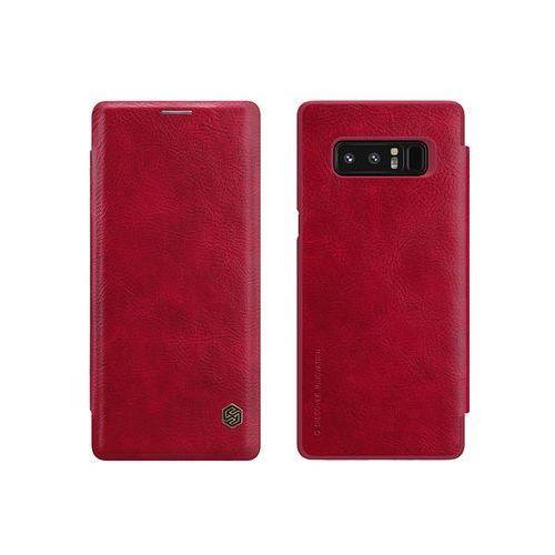 Samsung Galaxy Note 8 - etui na telefon Nillkin Qin - czerwone