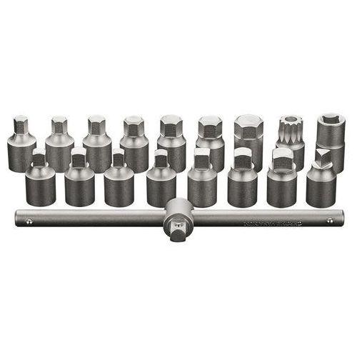Zestaw kluczy do spustu oleju NEO 11-235 3/8 cala (18 elementów) + DARMOWY TRANSPORT! (5907558417098)