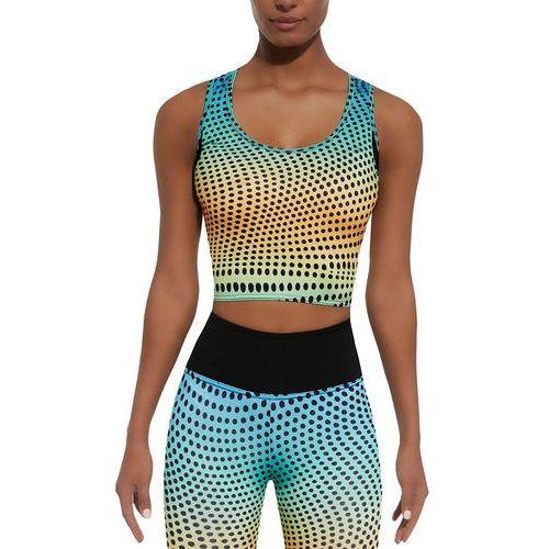 Bas black Damski top sportowy wave-top 30, kolorowy, s (5902529383723)