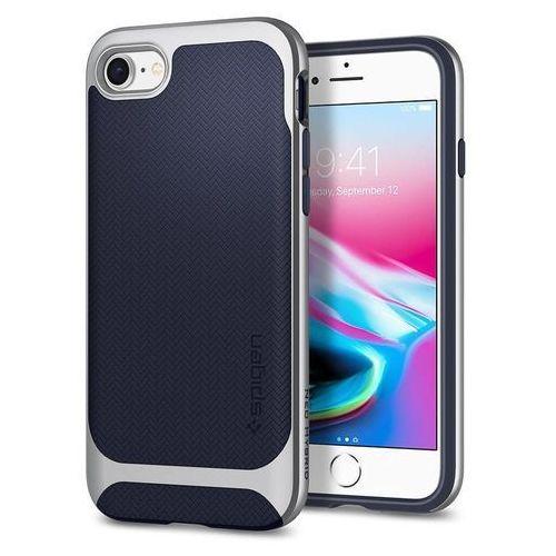 Spigen neo hybrid herringbone 054cs22199 iphone 7/8 (satin silver) (8809565300912)
