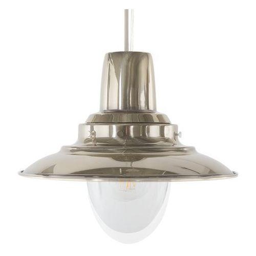 Lampa wisząca niklowa PINEGA, kolor Srebrny