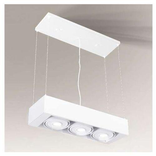 LAMPA wisząca UTO IL 5609/LED/BI Shilo regulowana OPRAWA belka LED 30W 3000K zwis biała (1000000345896)