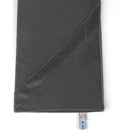 Dr.bacty Ręcznik treningowy z kieszonką m czarny