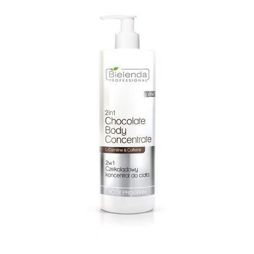 professional 2 w 1 czekoladowy koncentrat do ciała 450 ml marki Bielenda
