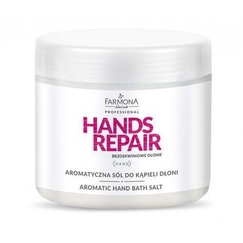 Hands repair aromatyczna sól do kąpieli dłoni 500g marki Farmona professional